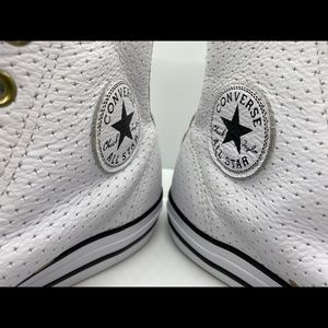 Converse Shoes - Converse Leather High Top Sneakers